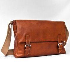 STORIA II - Italian Leather Messenger Bag (Apparel) http://www.amazon.com/dp/B003D8BYTM/?tag=pindemons-20 B003D8BYTM