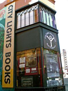 City Lights Books - San Francisco. Best place ever.