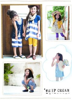 Whip Cream: Bold & Bright Japanese Fashion for Girls #KidStyleFile