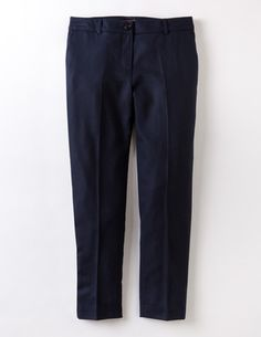 Wool Bistro Crop WQ057 Trousers & Jeans at Boden