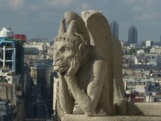 Notre Dame....gargoyles andamazing views of the city