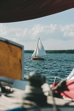 Despite my tendency to get sea sick, I miss #sailing ~ETS