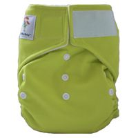 8: Kawaii Goodnight Heavy Wetter pocket diaper - a great nighttime solution for those of you with babies who completely soak their diapers!  #clothdiapers #nopins