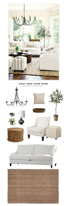 Comment on Copy Cat Chic Room Redo | Crisp Linen Living Room by Liz Baldwin