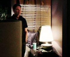 "#Scandal ""A Door Marked Exit""                                       Quinn & Charlie ""You came back."" - Charlie"