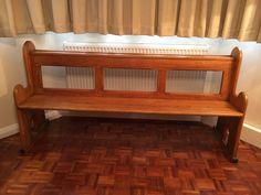 Solid Oak 6ft Long Church Pew  | eBay Solid Oak, Storage, Furniture, Ebay, Home Decor, Homemade Home Decor, Larger, Home Furnishings, Decoration Home