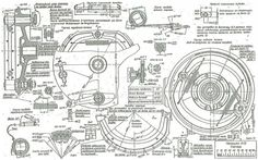 Russian M-72 Blueprints 1