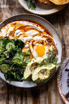 Turkish Eggs with Chile Butter and Whipped Feta breakfast brunch healthyrecipes eggs spring summer Turkish Eggs, Egg And Grapefruit Diet, Mediterranean Diet Meal Plan, Mediterranean Breakfast, Boiled Egg Diet Plan, Whipped Feta, Le Diner, Breakfast Dishes, Breakfast Healthy