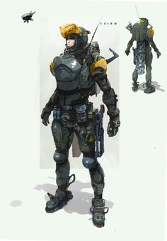 ArtStation - armor-g, Dmitri Dimas-ch