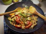 Paula's Teriyaki Chicken Stir Fry Recipe via @SparkPeople
