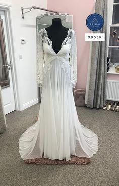 Chiffon Dress, Bridal Dresses, Tulle, David, Bride, Boho, Formal Dresses, Lace, Inspiration