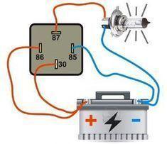 Automotive Relays Fundamentals and Testing Kiril Mucevski LinkedIn Engine Repair, Car Engine, Electronic Engineering, Mechanical Engineering, Diy Electronics, Electronics Projects, Trailer Wiring Diagram, Electrical Projects, Electrical Symbols