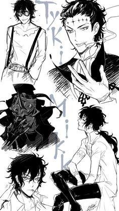Hot Anime Boy, Anime Love, Anime Guys, D Gray Man, Grey, Manga Art, Anime Manga, Anime Art, Anime Villians