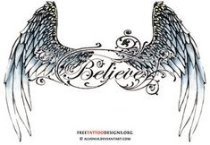 wing tattoos for women | Angel Wing Tattoos For Girls On Lower Back - Free Download Tattoo ...