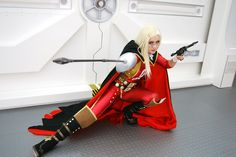 Emeralde Queen, Anime: Space Pirate Captain Harlock. Cosplayer: Rebecca Koga 'aka' Celestial Shadow. From: Washington, Residence: Tokyo Japan. Event: Kumoricon 2007.