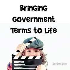 Principles of government can be a challenging topic for any age level! This activity makes an abstract concept attainable for your students through discussion, group work, imagery and acting.