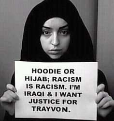 Justice shouldn't be determined by the clothes you wear, the color of your skin, or if you were in the wrong place @ the wrong time in someone else's racist mind. 2TU!