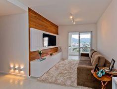 Salas modernas: ¡7 ideas de paneles para poner tu televisión! (De Xochitl Díaz)