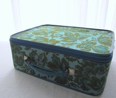 Vintage Avon Suitcase...just like my grandma had!  She was an Avon Lady:)