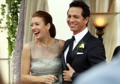 Addison Montgomery and Jack Reilly @ their wedding. Addison Montgomery, Tv Couples, Wedding Couples, Wedding Photos, Abc Tv Shows, Movies And Tv Shows, Greys Anatomy Imdb, Kate Walsh, Stock Foto