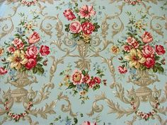 FREE SHIPPING!!! Vintage Style Shabby Chic Fabric