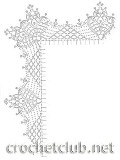 Crochet Border Patterns, Crochet Collar Pattern, Crochet Lace Edging, Filet Crochet, Irish Crochet, Crochet Shawl, Stitch Patterns, Crochet Cord, Crochet Angels