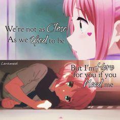 #Quote #Anime #ChuunibyouDemoKoiGaShitaiRen #Sophia