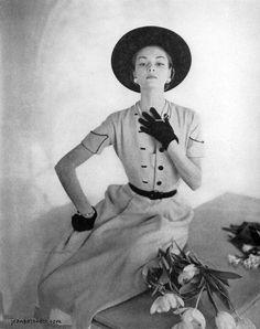 Jean Patchett Vogue Magazine Photography Clifford Coffin February 15 1949