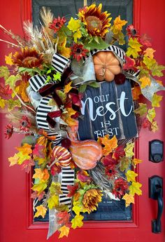 Autumn Wreath, Pumpkin Wreath, Fall Wreath , Thanksgiving Wreath, Fall Wreath for front door,Fall Pumpkin Wreath, Autumn Home Decor Thanksgiving Wreaths, Autumn Wreaths, Holiday Wreaths, Wreath Fall, Fall Entryway Decor, Fall Decor, Christmas Swags, Pumpkin Wreath, Autumn Home