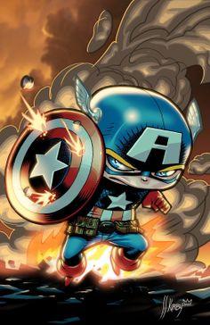 Mini - Captain America