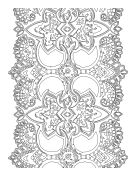 Printable Adult Coloring Pages --  29 FREE coloring pages for adults that you can download and print.  SAMPLE:Totem