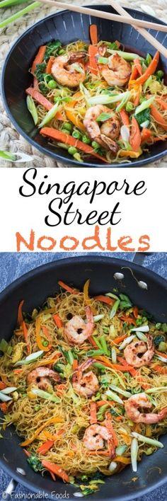 Singapore Street Noodles Pin