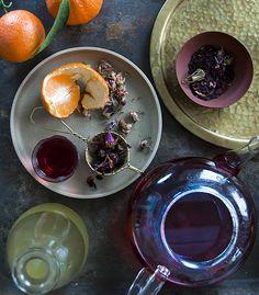 Bellocq's Hibiscus-Ginger Tea Warmer recipe. (Photos by Max Tielman)