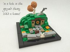 I built this back in May of 2016, but more recently I received a request to post it here. It was originally going to become a Hobbit vignette series, but I never really worked further on that. Maybe at some point I'll pick it up again. You can view my original posting here on MOCpages: www.moc-pages.com/moc.php/429023
