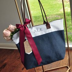Wedding Party Totes – Page 2 – Confetti Momma Monogram Tote Bags, Personalized Tote Bags, Custom Tote Bags, Personalized Bridesmaid Gifts, Personalized Ribbon, Bridesmaid Gift Bags, Navy Bridesmaids, Striped Tote Bags, Reusable Tote Bags