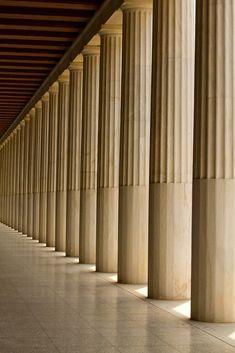 modern doric columns | Helen Cook | Flickr Columns, Gym, Cook, Curtains, Architecture, Modern, Home Decor, Arquitetura, Blinds