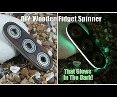 In this Instructable I'll show you how I made a DIY wooden fidget spinner toy. Fidget toys like this have become really popular recently and I have to admit they are weirdly addictive to play with.I wanted to make a hand spinner for myself so I decided to use some scrap walnut, recycled skateboard bearings and Kirinite to make this one and guess what? It freakin' glows in the dark!I've detailed to whole process for making this fidget spinner in this video and I've included Eba...