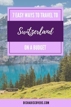 It's totally possible to travel to Switzerland on a budget despite it being an expensive country. Ways To Travel, Europe Travel Tips, European Travel, Budget Travel, Travel Guides, Travel Destinations, Travel Articles, Travel Packing, Switzerland Destinations