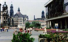Dresden in lovely ORWO colour 1988