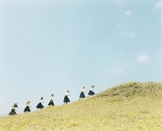 """The strength and beauty as a collective entity stand out more by being in nature."" o2 by Osamu Yokonami."
