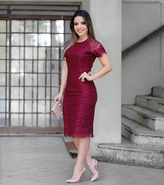 Image may contain: 1 person Dress Skirt, Lace Dress, Dress Up, Bodycon Dress, Pretty Dresses, Beautiful Dresses, Modest Fashion, Fashion Dresses, Glamour