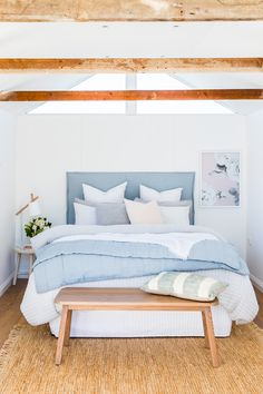 My guest bedroom as featured in Adore Magazine. Photography by Nikki To and styling by Alice Stephenson.