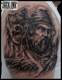Vlad The Impaler, Viking Tattoos, Get A Tattoo, Tatoos, Mens Fashion, Tattoo Ideas, Google, Projects, Wolves