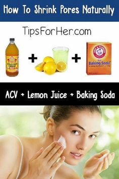 Shrink Large Pores Natural with A DIY Remedy