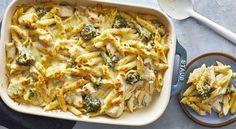Chicken-and-Broccoli Pasta Bake Cheesy Chicken Pasta, Chicken Spaghetti Casserole, Creamy Chicken Casserole, Chicken Broccoli Pasta Bake, Creamy Pasta Recipes, Baked Pasta Recipes, Chicken Recipes, Cooking Recipes, Cooking Tips
