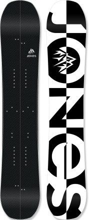 We love this clean design by Jones Carbon Solution Splitboard - 2013/2014.