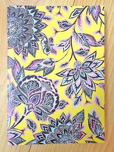 Ethnic Patterns, Pretty Patterns, Textures Patterns, Textile Prints, Floral Prints, Moleskine, Oriental Flowers, Batik Art, Creative Textiles