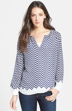Joie 'Agnella' Silk Top available at #Nordstrom $172.80
