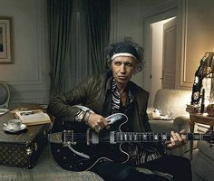 Keith Richards © Annie Leibovitz