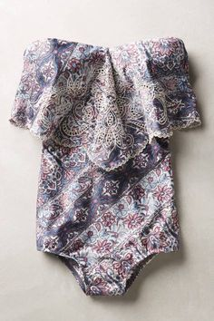 Ryker Embroidered Maillot by Zimmermann